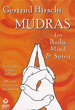 Mudras for Body, Mind and Spirit Card Deck Set