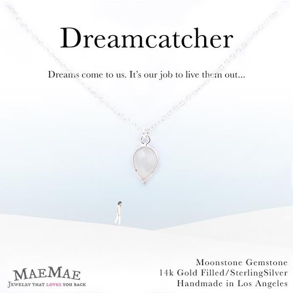 Dreamcatcher Necklace Sterling Silver