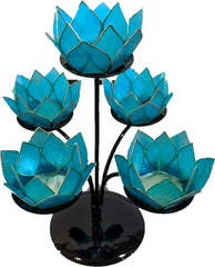 Capiz Lotus Stand Mini 5 Stand Set