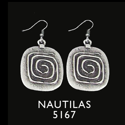 Turkish Nautilas Earrings