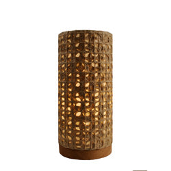 Paper Cylinder Table - Woven