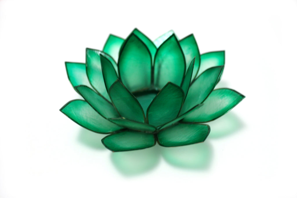 Paradise Lotus Tea Light Holder