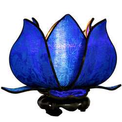 Baby Blooming Lotus Lamp, Royal