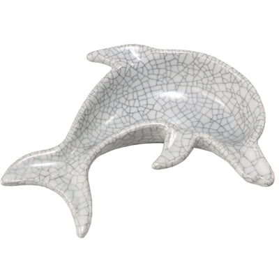 Jumping Dolphin Ceramic Tray