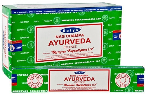 Satya Ayurveda Incense - 15 Gram Pack