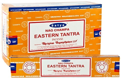Satya Eastern Tantra Incense - 15 Gram Pack