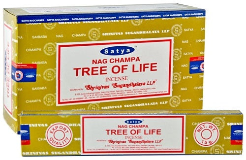 Satya Tree of Life Incense - 15 Gram Pack