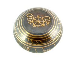 Lord Buddha Tibetan Meditation Singing Bowl - 6.5