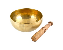 Hand Hammered Tibetan Meditation Singing Bowl - 5