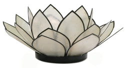 SoHo Lotus Tea Light Holder, Natural