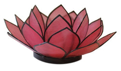 SoHo Lotus Tea Light Holder, Pink