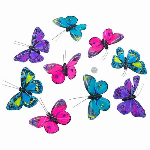 Butterfly Garland Evening Petite