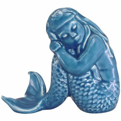 Sleeping Mermaid, Blue