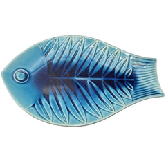 Artistic Blue Fish Tray
