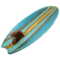 Surfboard Ceramic Plate