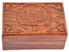 Lotus Wood Box