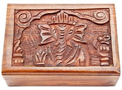 Lord Ganesh Wood Box