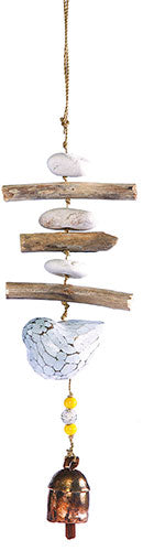 Driftwood Bird Beads and Bell