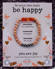 'Be Happy' Bracelet