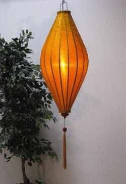 Chinese Lantern Oval 4', Gold