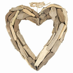 Driftwood Open Heart Large