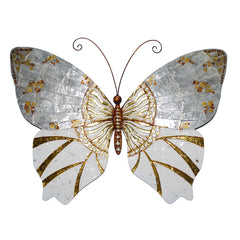Wall Butterfly Silver & Gold