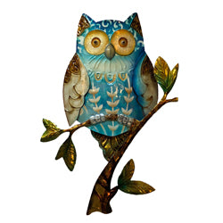 Owl Wall Art, Blue