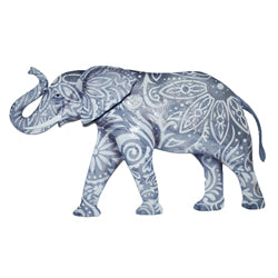 Wall Decor - Elephant, Gray