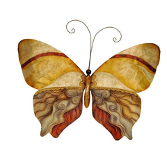 Wall Butterfly Peart, Tan and Brown