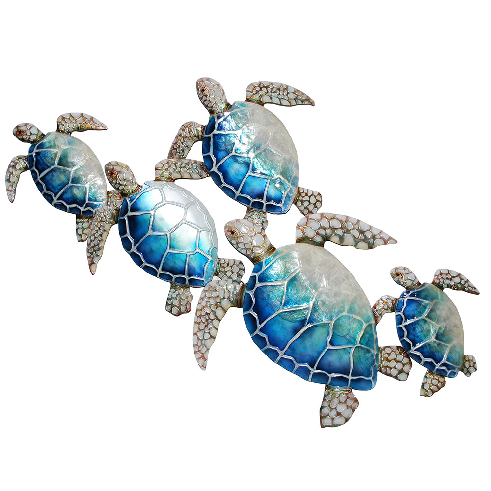Turtle Family Wall Decor