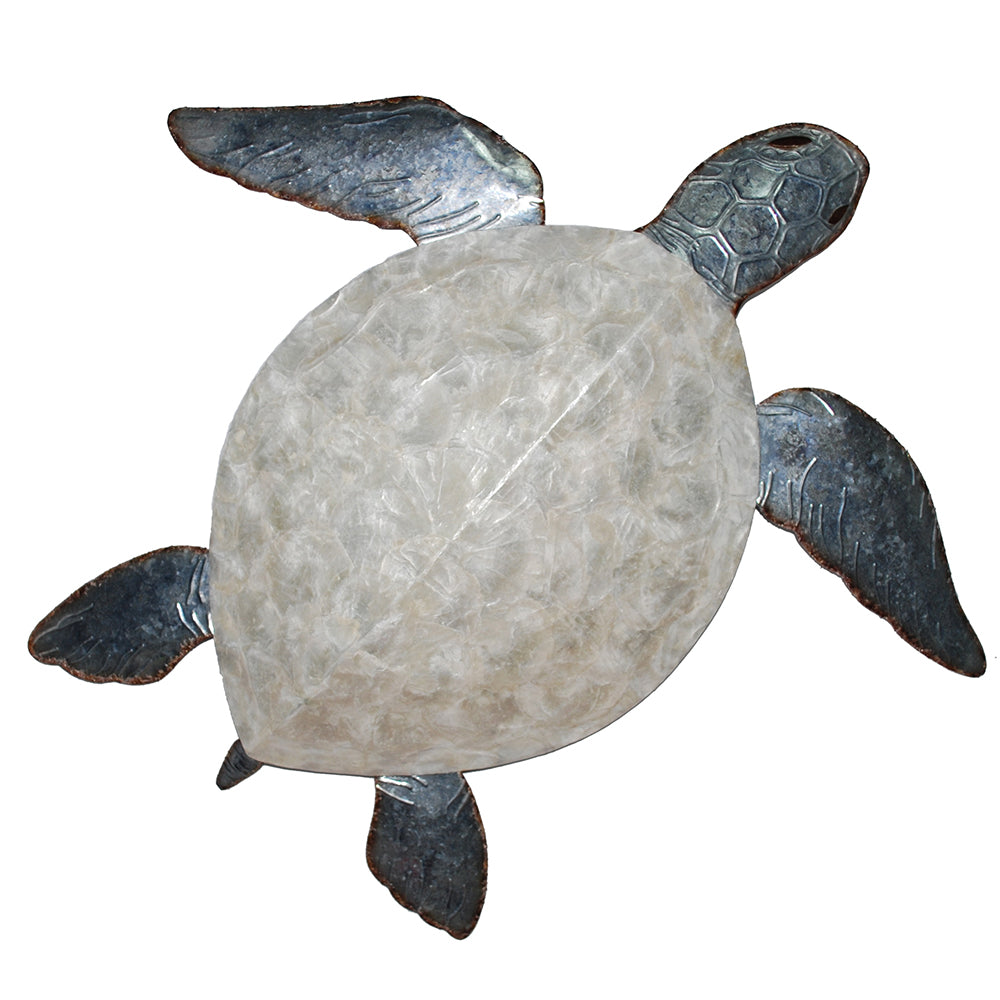 Wall Turtle with Pearl Shell