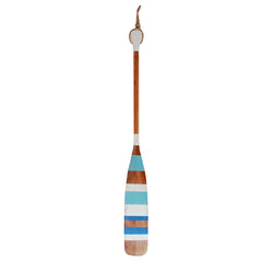 Oar Vintage Aqua Stripes 60 In
