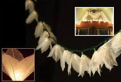 Flower String Lights - Natural