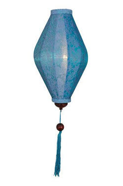 Chinese Lantern Oval 6', Turquoise