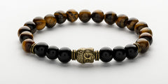Men's Tiger's Eye Buddha Bracelet