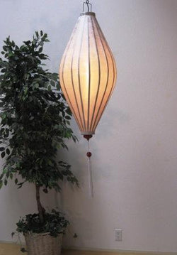 Chinese Lantern Oval 4', White