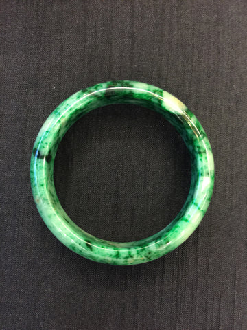 Jade Bangle - Round Shaped