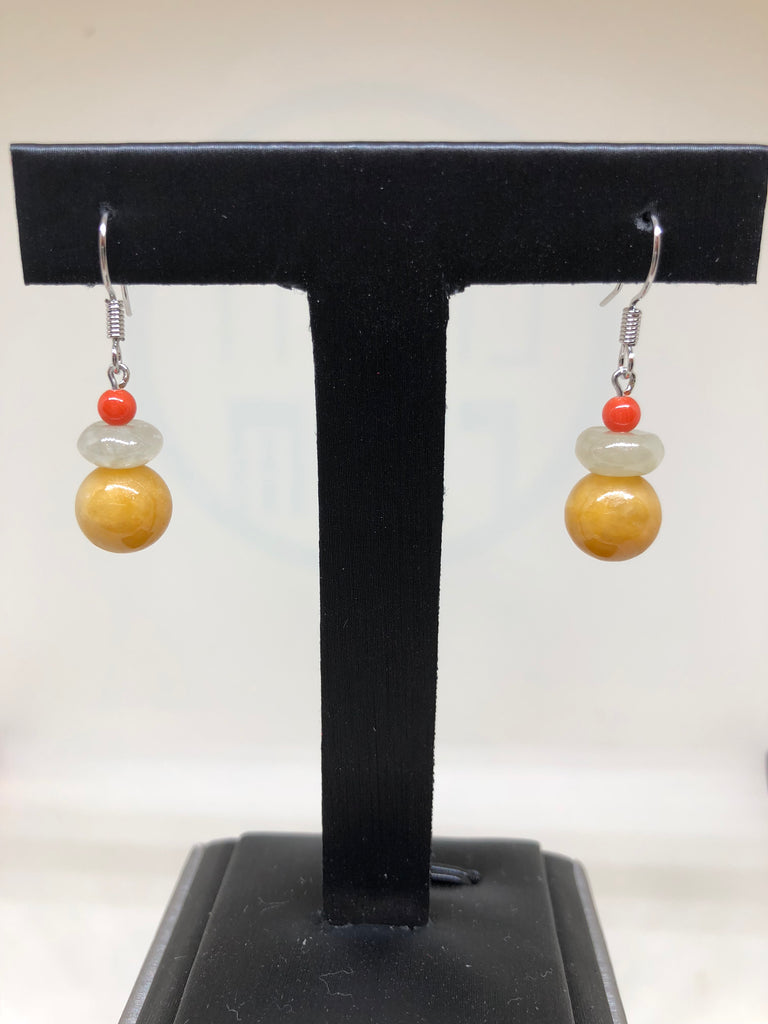 Yellow Earrings (EA224)