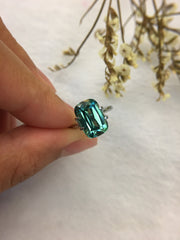 Natural Greenish Blue Tourmaline (GE042)