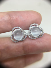 Glassy Variety Earrings - Cabochon (EA240)