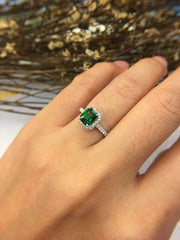 Natural Tsavorite Ring (GE062)