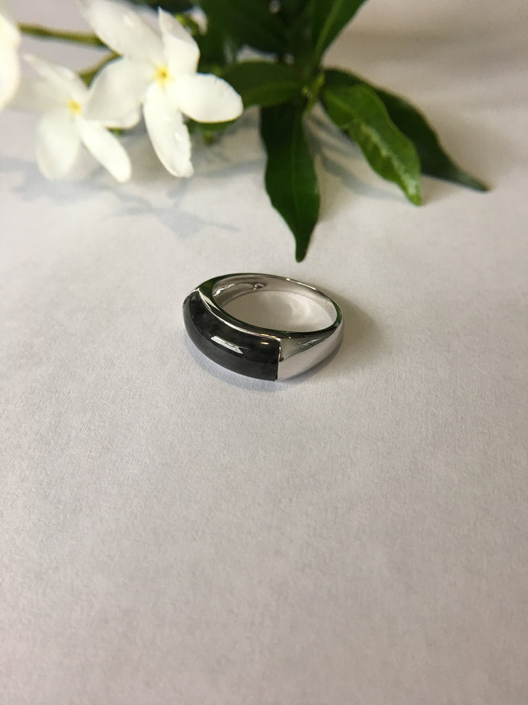 Black Jade Ring (RI027)
