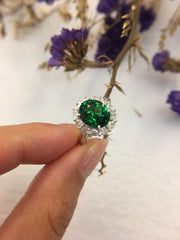 Natural Tsavorite Ring (GE092)