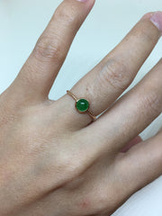 Green Ring - Cabochon (RI102)