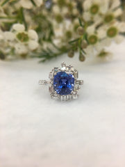 Natural Blue Sapphire (Unheated) (GE049)