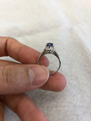 Blue Sapphire Ring (GE001)