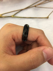 Black Jade Ring (RI124)