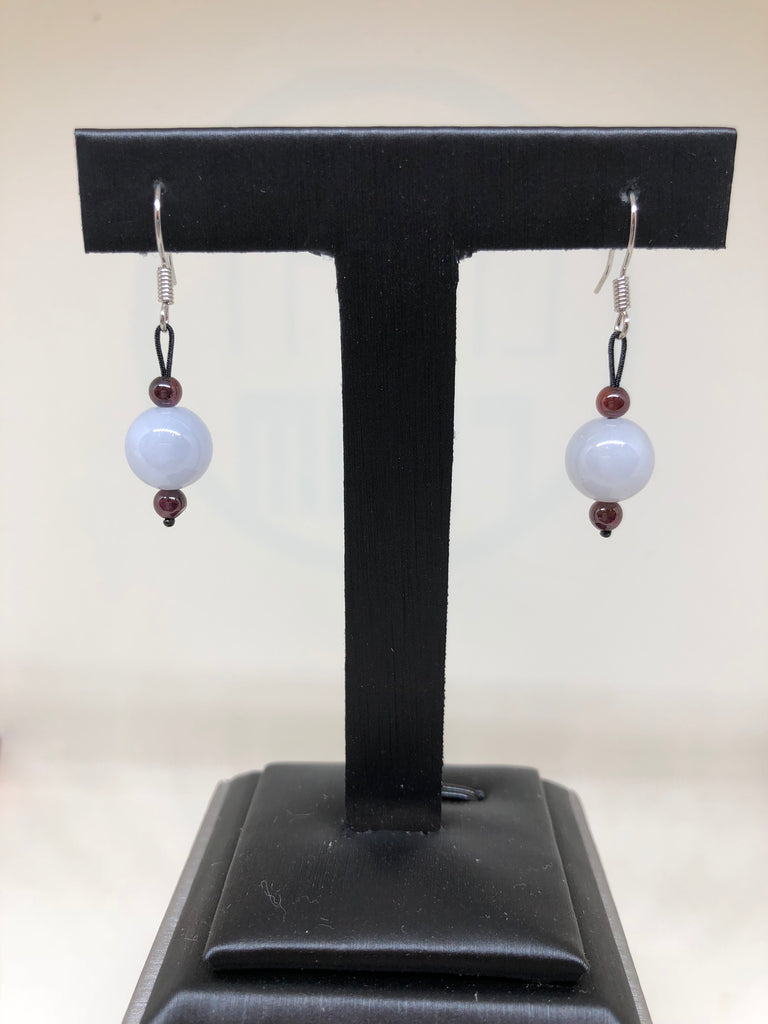 Icy White Earrings (EA230)