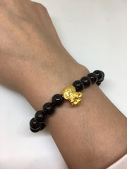 Pure Gold Money Bag Bracelet (BR092)