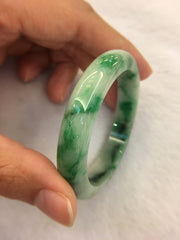 Dark Green Bangle - Round (BA100)
